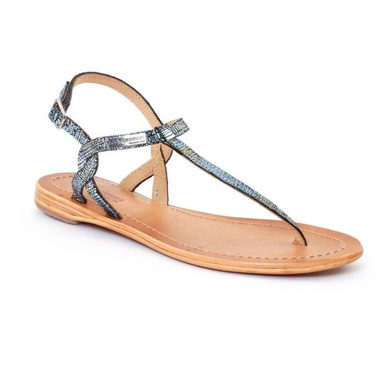 Nu Pieds Et Sandales Les Tropeziennes Billy Bleu, vue principale de la chaussure femme