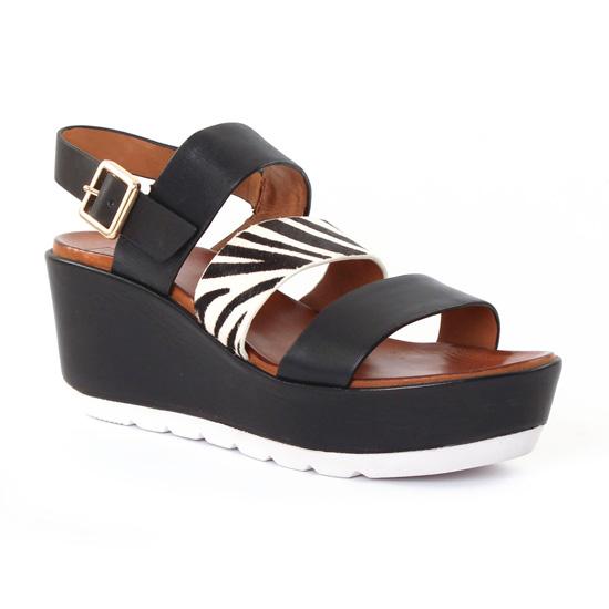 Nu Pieds Et Sandales Femme Plus Venise White, vue principale de la chaussure femme