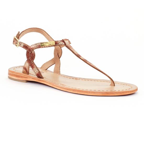 Nu Pieds Et Sandales Les Tropeziennes Billy Or, vue principale de la chaussure femme