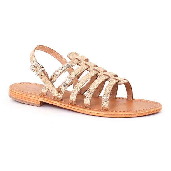 Nu Pieds Et Sandales Les Tropeziennes Brillant Or, vue principale de la chaussure femme