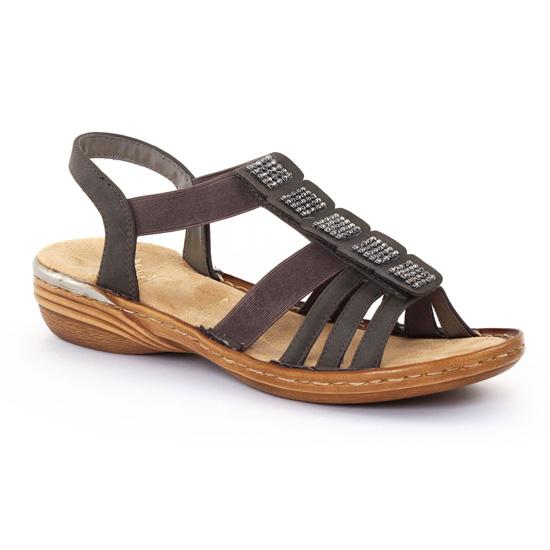 Chaussures Rieker Stromboli grises femme R2vRarHad