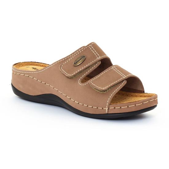 Nu Pieds Et Sandales Tamaris 27510 Taupe, vue principale de la chaussure femme