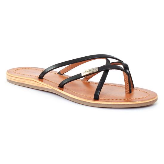 Nu Pieds Et Sandales Les Tropeziennes Bip Noir, vue principale de la chaussure femme