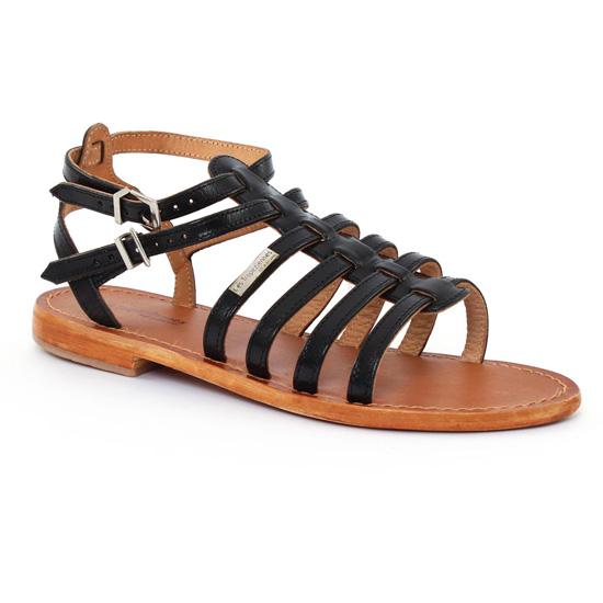 Nu Pieds Et Sandales Les Tropeziennes Hic Noir, vue principale de la chaussure femme
