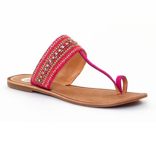 Nu Pieds Et Sandales Gioseppo 27534 Fucshia, vue principale de la chaussure femme