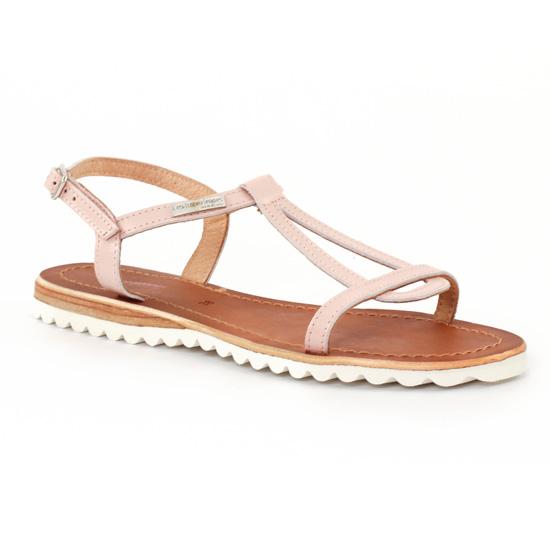 Nu Pieds Et Sandales Les Tropeziennes Evamess Rose, vue principale de la chaussure femme