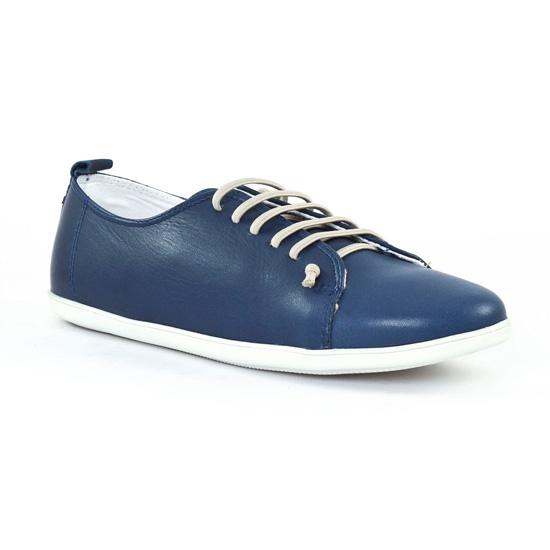 Tennis Et Baskets Mode Scarlatine om6327 Jeans Blanc, vue principale de la chaussure femme
