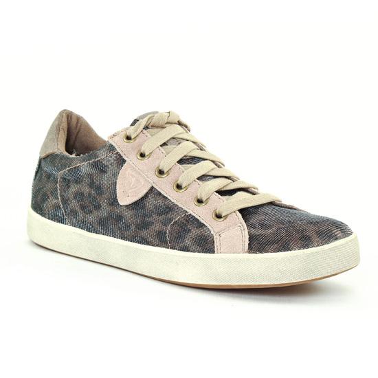 Tennis Et Baskets Mode Tamaris 23600 Leopard, vue principale de la chaussure femme