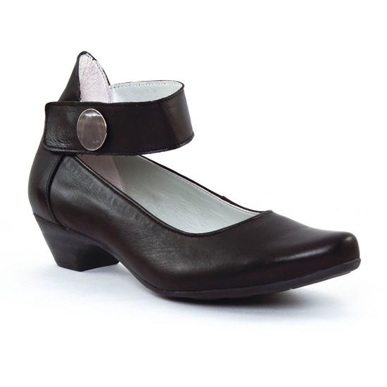 Escarpins Scarlatine 7880 Noir, vue principale de la chaussure femme