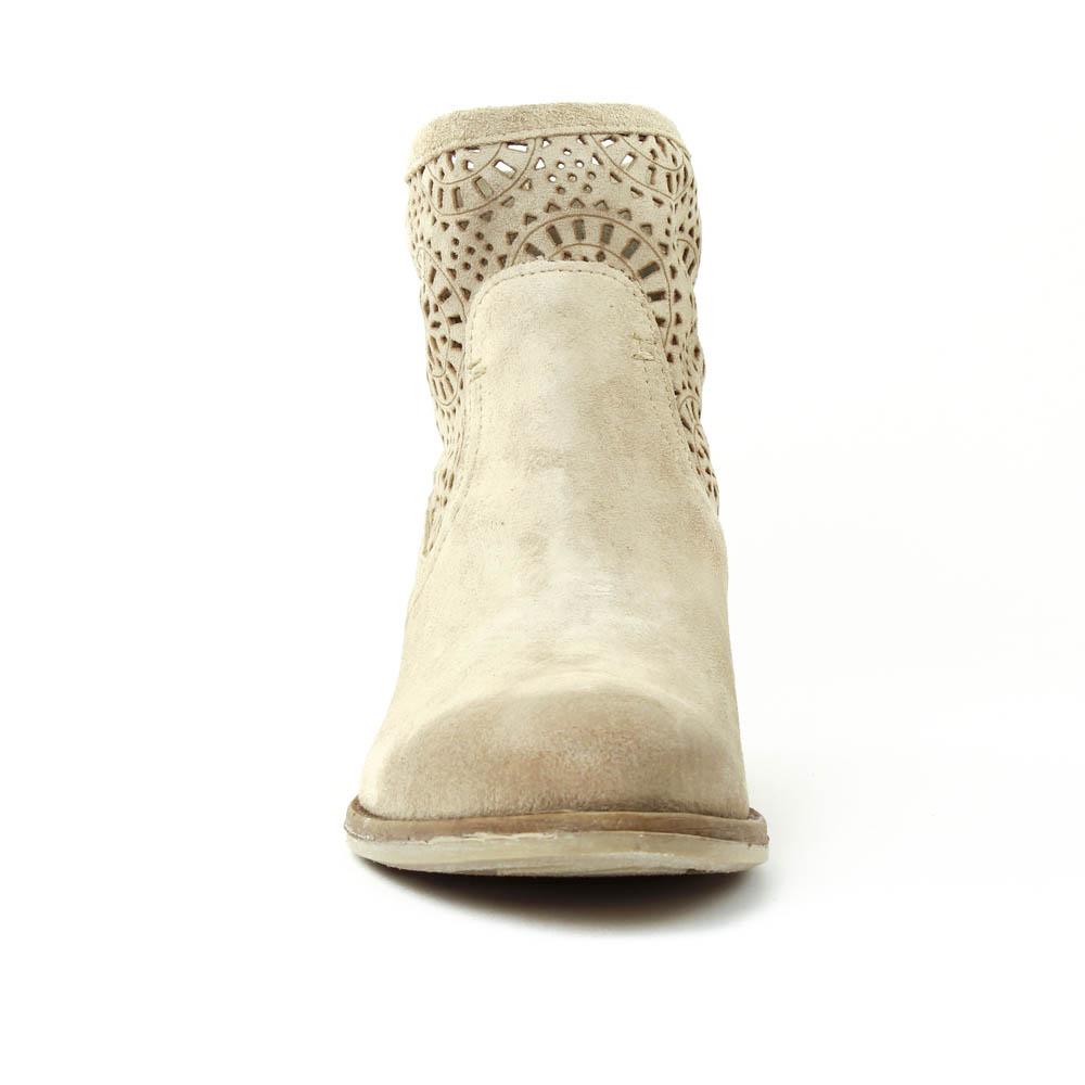khrio 1503 sand | boot d'été beige clair printemps été chez trois
