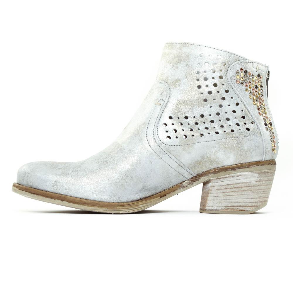 631c16b873dd9 boots d été gris argent mode femme printemps été vue 3