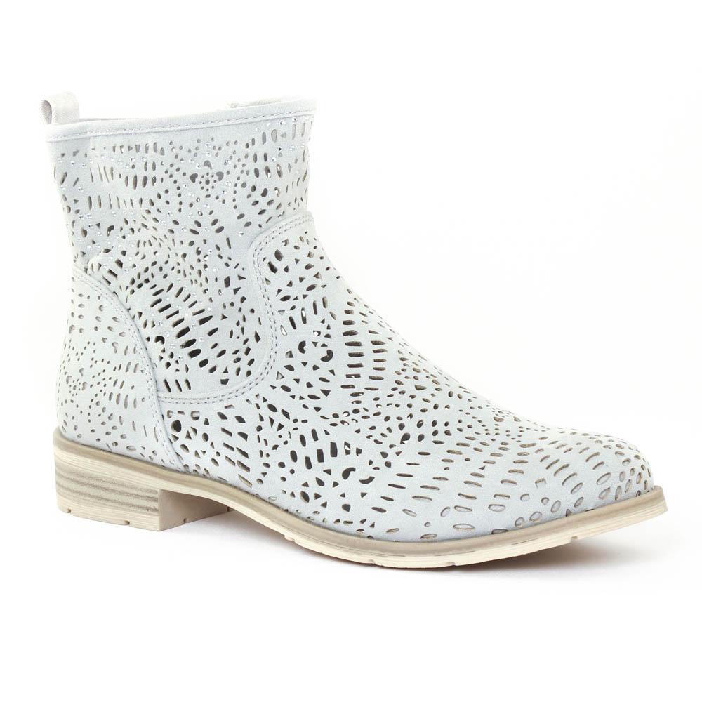 marco tozzi 25301 quartz | boot d'été gris clair printemps été