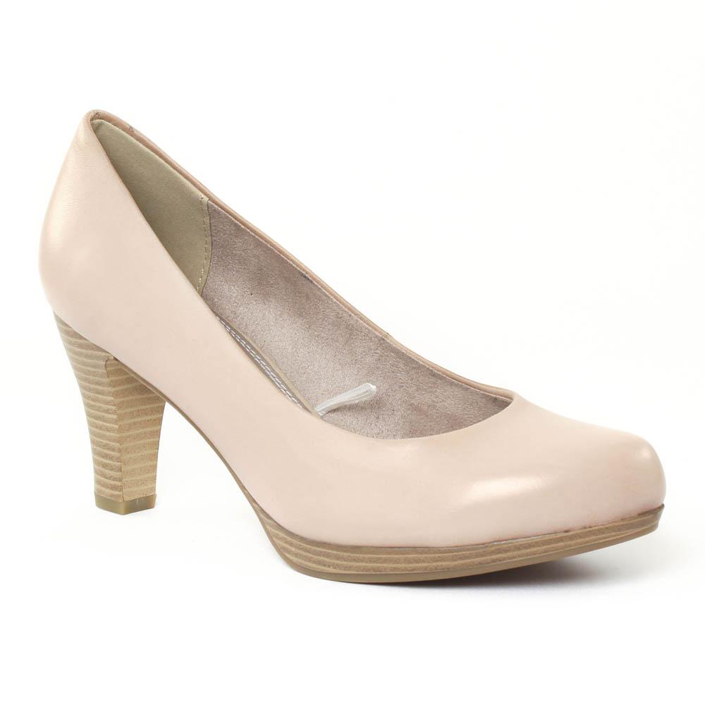c141536bea8 escarpins beige rose mode femme printemps été vue 1