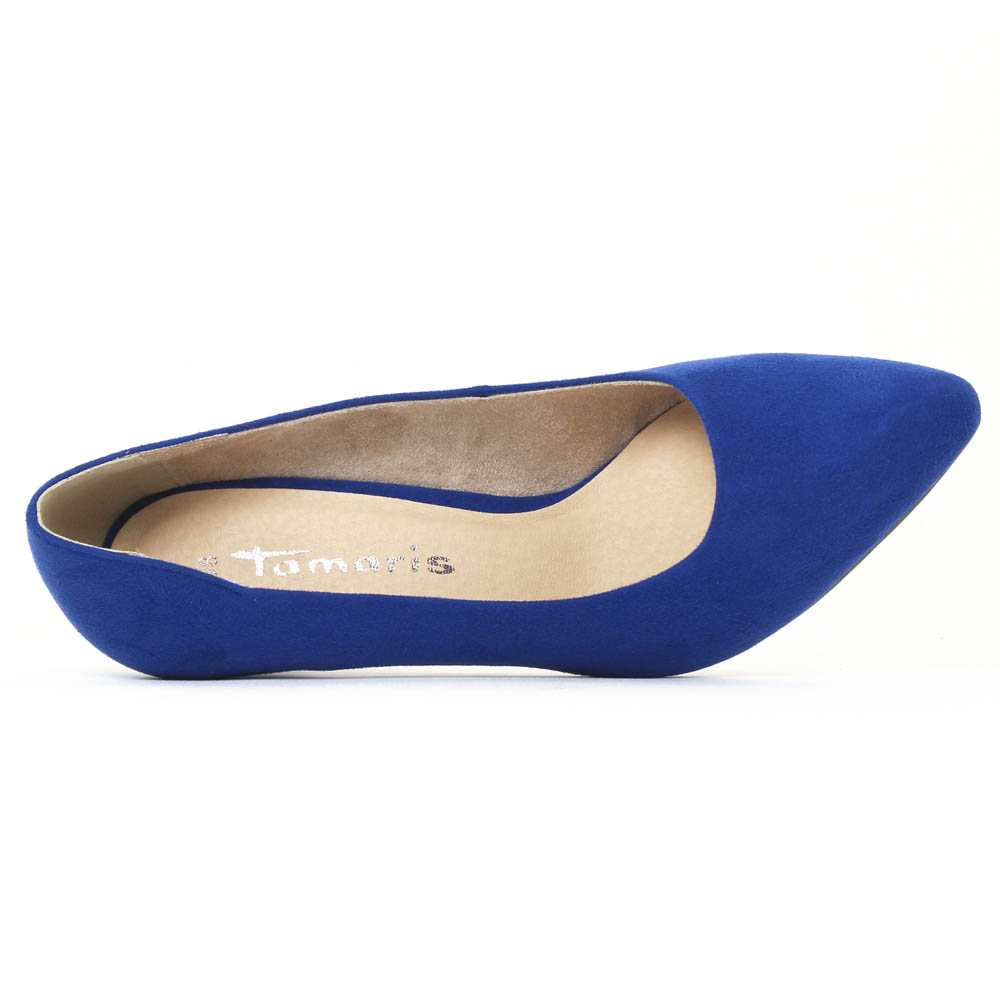 074f0bafe566c5 Tamaris 22475 Royal | escarpins bleu royal printemps été chez TROIS ...