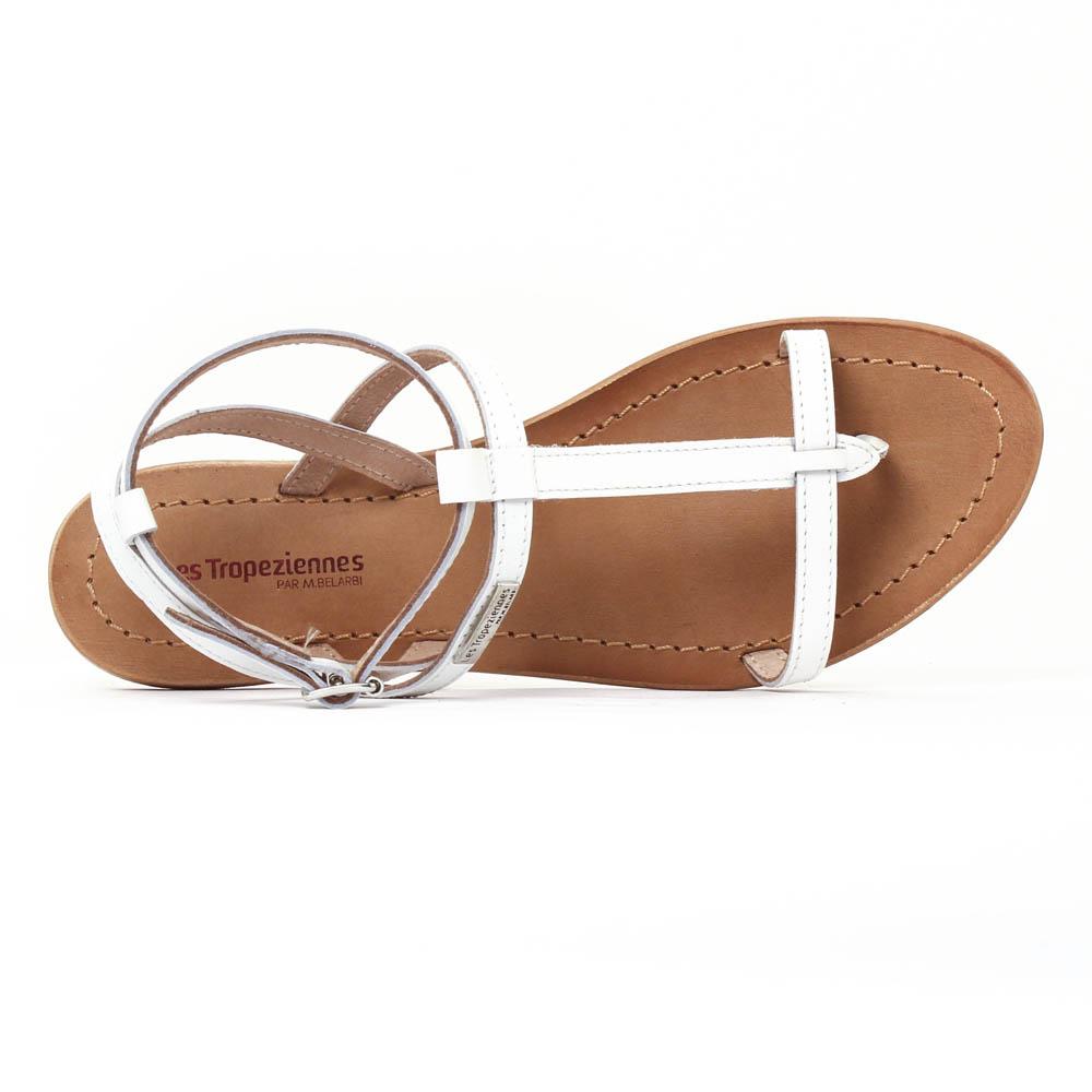 les tropeziennes hilan blanc mat sandales blanc printemps t chez trois par 3. Black Bedroom Furniture Sets. Home Design Ideas