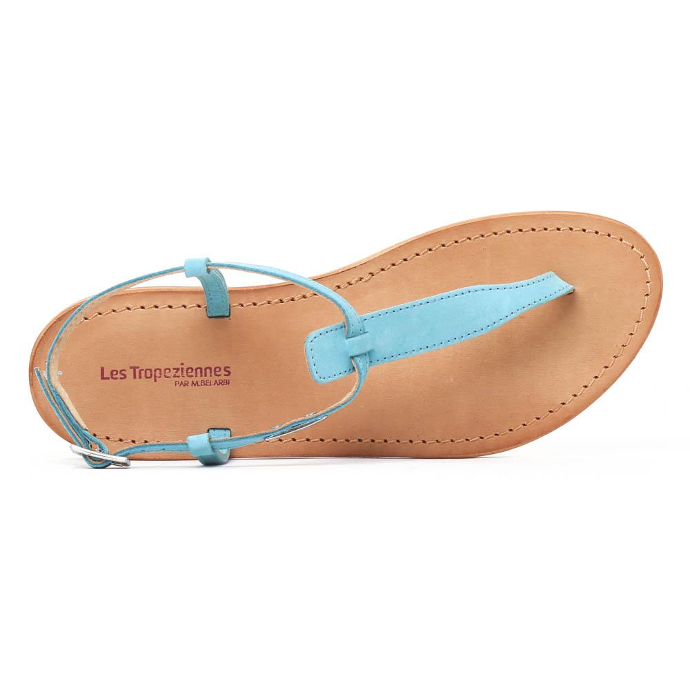 les tropeziennes narbuck turquoise sandales bleu printemps t chez trois par 3. Black Bedroom Furniture Sets. Home Design Ideas