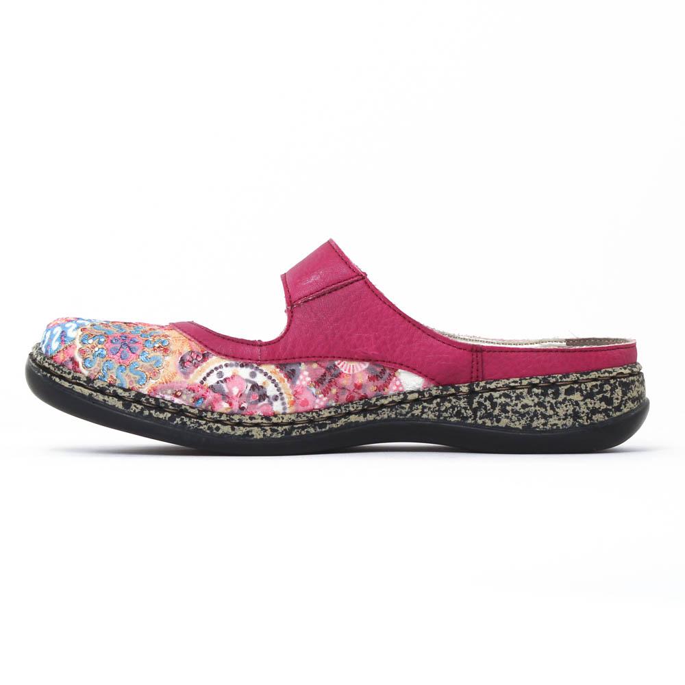 rieker 46385 pink multi sandales rose printemps t chez. Black Bedroom Furniture Sets. Home Design Ideas