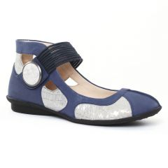 Chaussures femme été 2016 - ballerine brides fugitive bleu