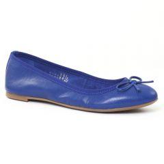 Chaussures femme été 2016 - ballerines marco tozzi bleu