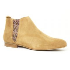 Chaussures femme été 2016 - boots Scarlatine beige