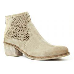 Chaussures femme été 2016 - boots d'été Khrio beige clair