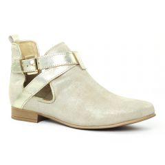 boots-ete beige doré: même style de chaussures en ligne pour femmes que les Marco Tozzi