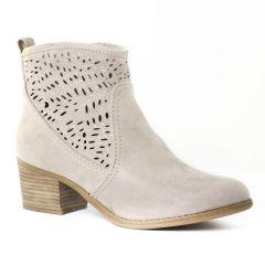 Chaussures femme été 2016 - boots d'été marco tozzi beige