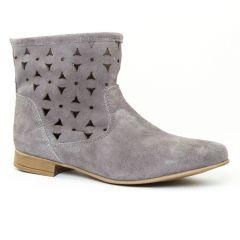 boots-ete gris: même style de chaussures en ligne pour femmes que les Rieker