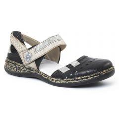Chaussures femme été 2016 - babies confort rieker noir
