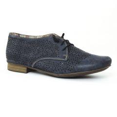 Chaussures femme été 2016 - derbys rieker bleu