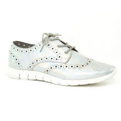 Chaussures femme été 2016 - derbys Mamzelle gris argent