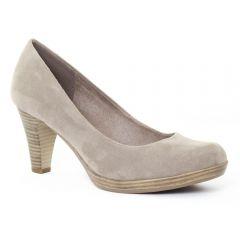 Chaussures femme été 2016 - escarpins marco tozzi beige