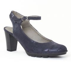 escarpins bleu marine: même style de chaussures en ligne pour femmes que les Tamaris