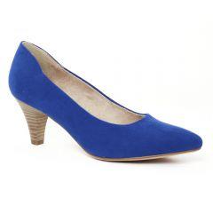 Chaussures femme été 2016 - escarpins tamaris bleu royal