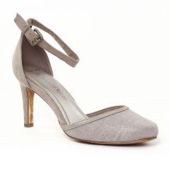 Chaussures femme été 2016 - escarpins brides marco tozzi beige