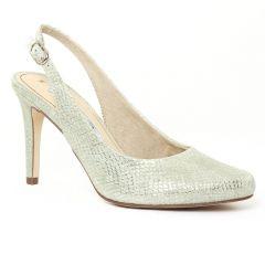 escarpins-brides python vert: même style de chaussures en ligne pour femmes que les Marco Tozzi