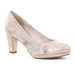 escarpins python rose: même style de chaussures en ligne pour femmes que les Marco Tozzi