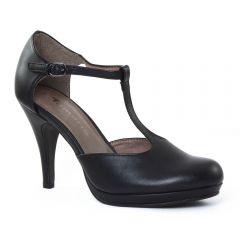 escarpins-salome noir mat: même style de chaussures en ligne pour femmes que les Marco Tozzi