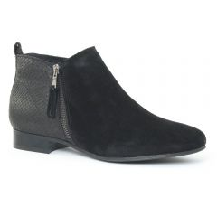 low-boots python noir: même style de chaussures en ligne pour femmes que les Tamaris