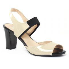 nu-pieds-talons-hauts beige: même style de chaussures en ligne pour femmes que les Fugitive