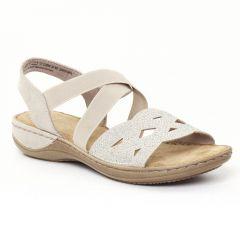 Chaussures femme été 2016 - sandales marco tozzi beige