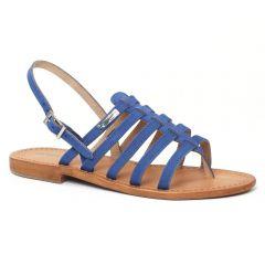 Chaussures femme été 2016 - sandales les tropéziennes bleu