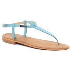 sandales bleu: même style de chaussures en ligne pour femmes que les Tamaris