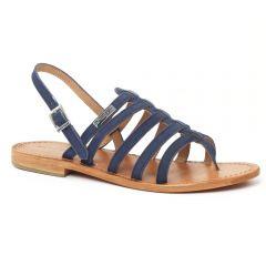 Chaussures femme été 2016 - sandales les tropéziennes bleu marine