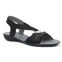 Chaussures femme été 2016 - sandales fugitive noir
