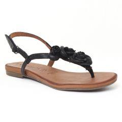 Chaussures femme été 2016 - sandales tamaris noir