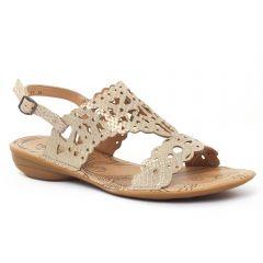 Chaussures femme été 2016 - sandales fugitive python beige