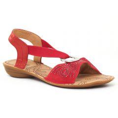 Chaussures femme été 2016 - sandales fugitive rouge