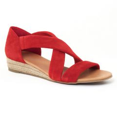 Chaussures femme été 2016 - sandales Scarlatine rouge