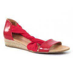 Chaussures femme été 2016 - sandales Scarlatine vernis rouge